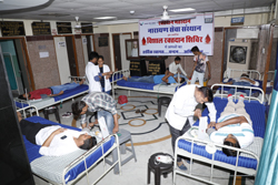 blood donation camp in india