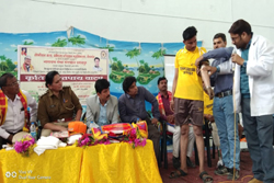 appliance distribution camp